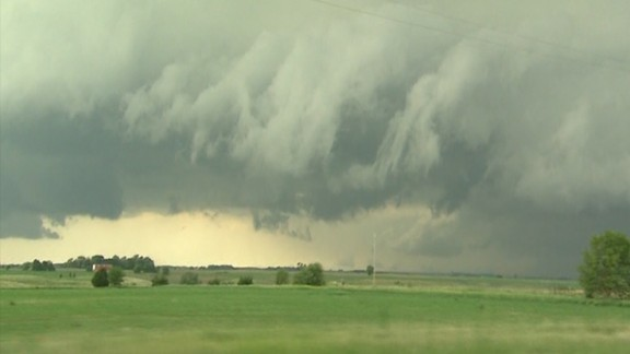 A derecho wind storm can sometimes be more powerful than a tornado.