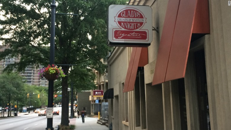 Gladys Knight's Chicken and Waffles restaurant raided