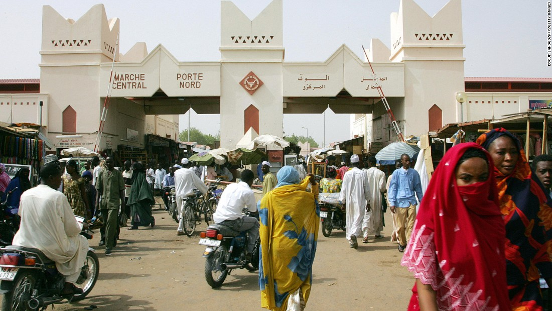 Chad's capital is located on the border with Cameroon and is one of three African cities on Mercer's global top 10 list of most expensive expat cities. N'Djamena serves as Chad's economic hub.