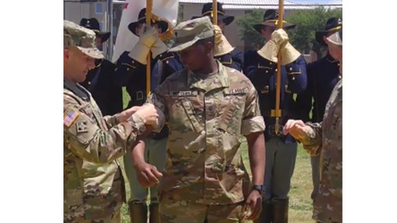 The US Army's newest uniform, the Operational Camouflage Uniform.