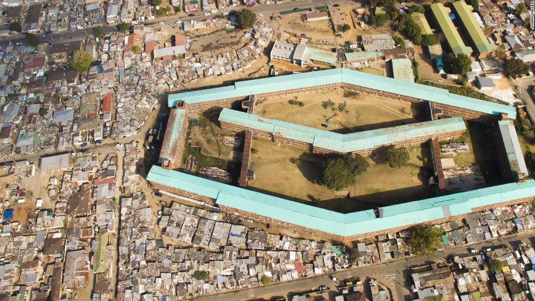 """Our goal is to have many million devices out there across the world, protecting our clients and what matters most,"" said Gluckman. Pictured, Alexandra township, South Africa."