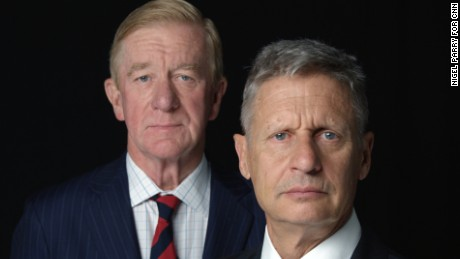 Libertarian ticket could spoil Clinton party