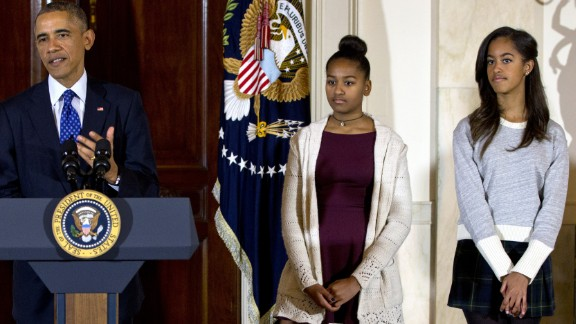 A Republican staffer at the House of Representatives resigned in 2014 after she wrote that the Obama girls wore skirts at a White House Thanksgiving event that made it appear like they were headed to a bar. She admonished them to show more class.