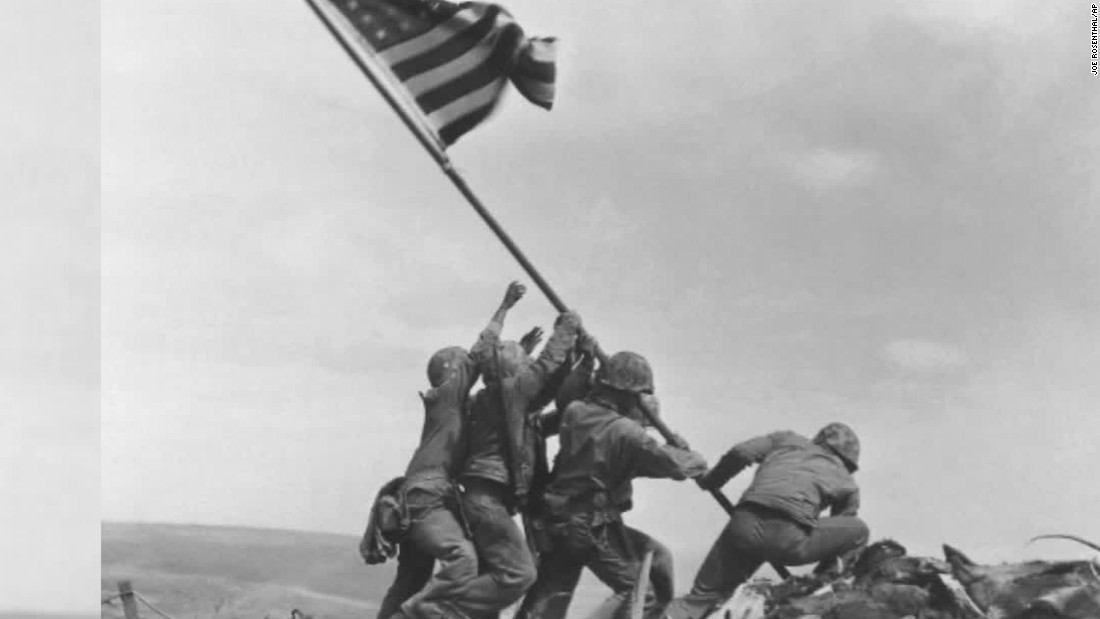 Marine in famous photo identified 70 years later