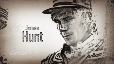 F1 legends: James Hunt