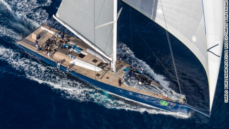 Magic Carpet Cubed is a state-of-the art 100ft Wally yacht.