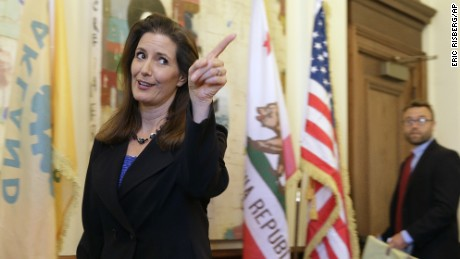Oakland Mayor Libby Schaaf has slammed the Oakland police culture.