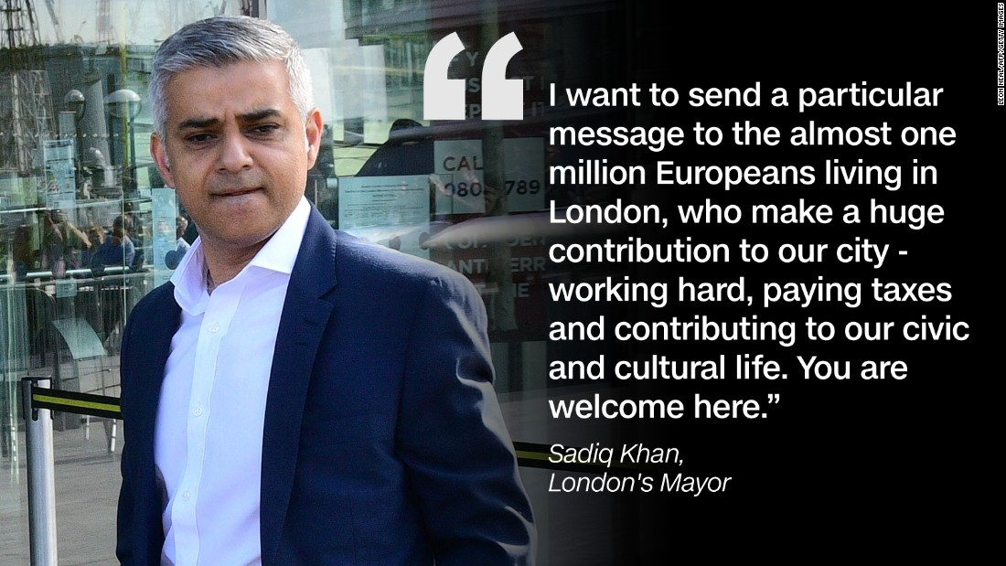 Quote graphic Sadiq Khan