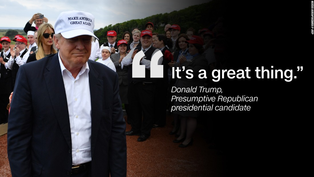 Quote graphic Donald Trump