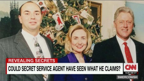 Ex-Secret Service Agent's Book Attacks Clintons_00011224