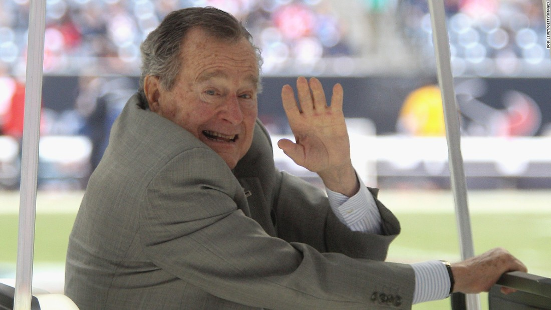 "George H.W. Bush, the 41st president, called pork rinds one of his favorite snack foods, according to a 1989 article in the <a href=""http://articles.chicagotribune.com/1989-05-11/entertainment/8904110763_1_pork-rinds-rudolph-foods-snack-food-association"" target=""_blank"">Chicago Tribune</a>."