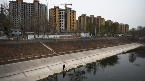 Study shows Beijing is sinking at an alarming rate due to demand on the city