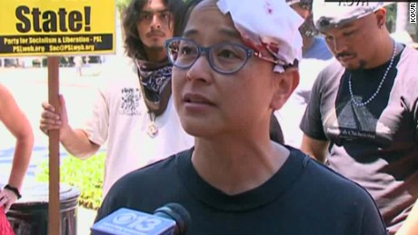 California capitol stabbing rally victim intv _00012817.jpg