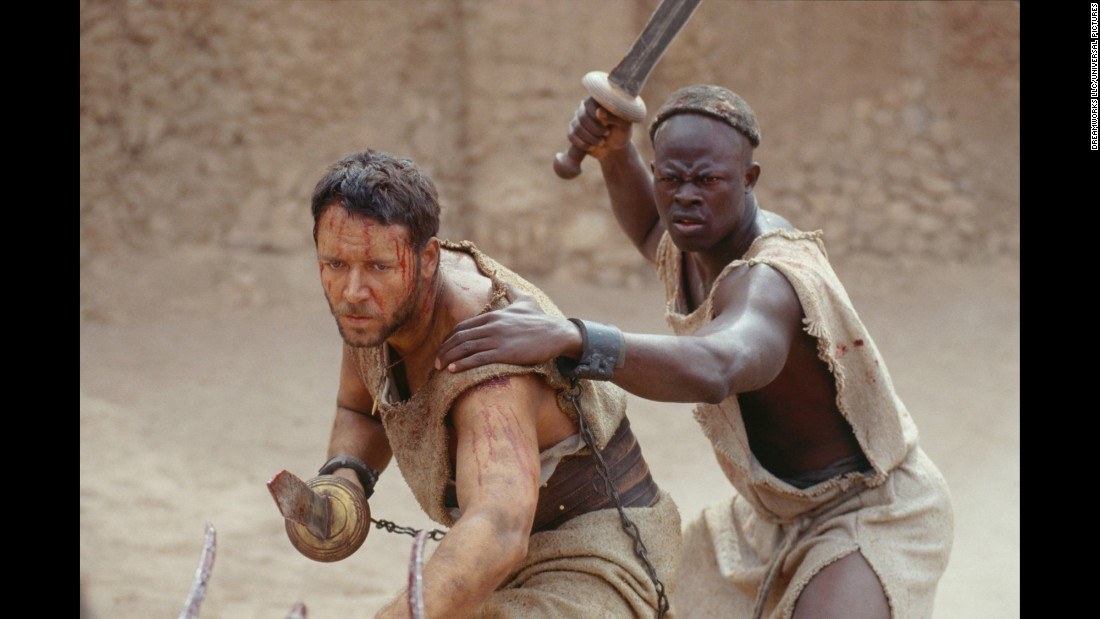 "<strong>""Gladiator""</strong>: Russell Crowe stars as a fallen Roman general seeking revenge for his murdered family in this 2000 film. <strong>(Netflix) </strong>"