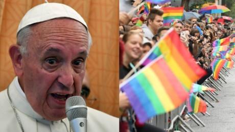 Comunidad LGBT celebra actitud del papa Francisco - CNN Video