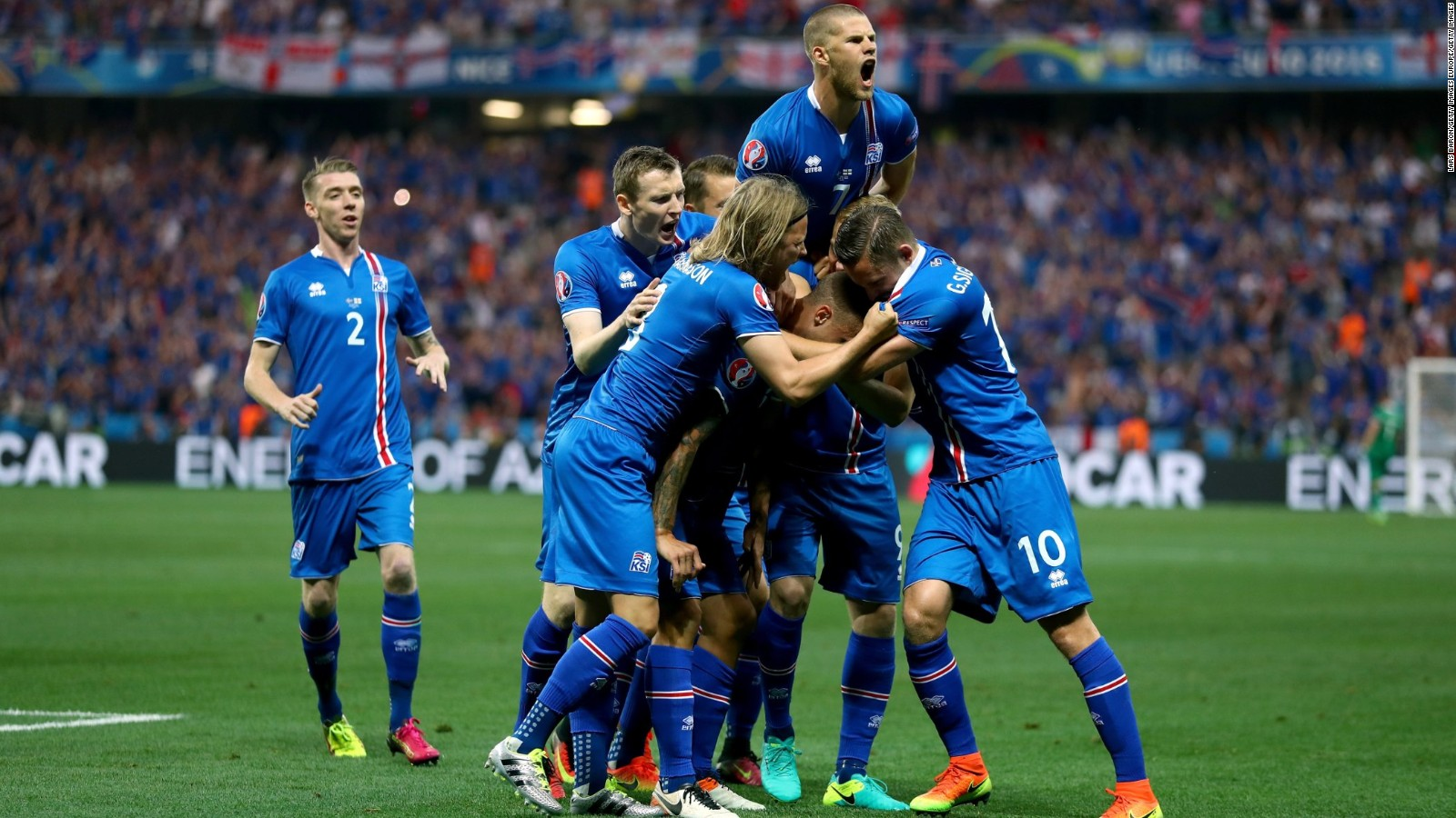 Euro 2016 Iceland Shocks England In
