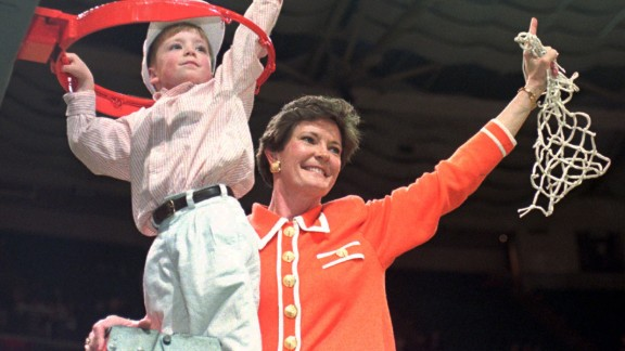 Pat Summitt, who built the University of Tennessee