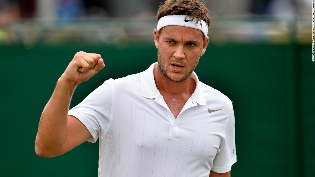 "The 25-year-old, backed by a rowdy home contingent on court 17, had been set to retire from professional tennis. Instead, he saved 19 of 20 break points to beat the highest-ranked Lithuanian tennis player of all time, prompting his mother to brand him the ""Jamie Vardy of tennis"" -- referring to the Leicester soccer star."