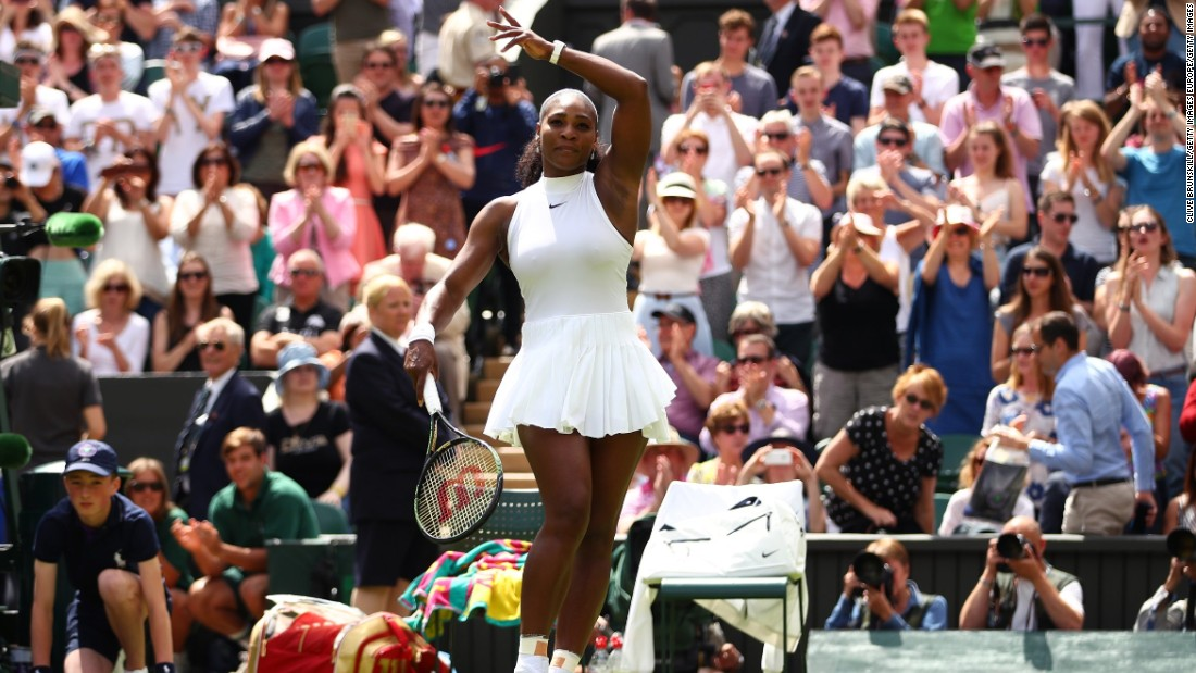 Wozniacki's friend Serena Williams had few problems in reaching round two, as the defending champion dispatched Switzerland's Amra Sadikov 6-2 6-4 on Centre Court to set up a clash with American Christina McHale.