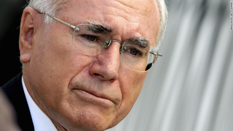 Former Australian leader John Howard's government was one of those whose documents were contained in the cabinet.