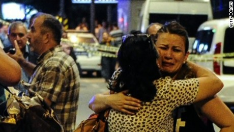 Istanbul airport witness: 'There was a lot of blood'