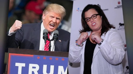 Rosie O'Donnell reignites feud with Donald Trump?