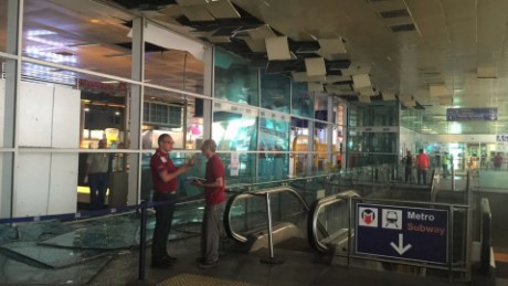 New images show damage inside Istanbul airport