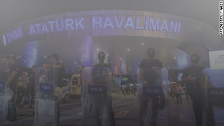 Video appears to show explosion inside Istanbul airport