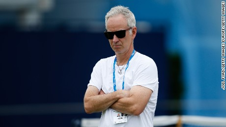 Former world No.1 John McEnroe won Wimbledon three times