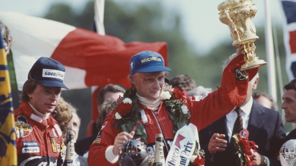 """Three-time F1 champion Niki Lauda was critically burnt in a near-fatal crash at the Nürburgring 40 years ago. Nonetheless, he believes """"too much safety will destroy the sport."""""""