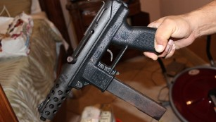 Miami Dade Police Say They Recovered TEC 9 Handgun In Drug Raid