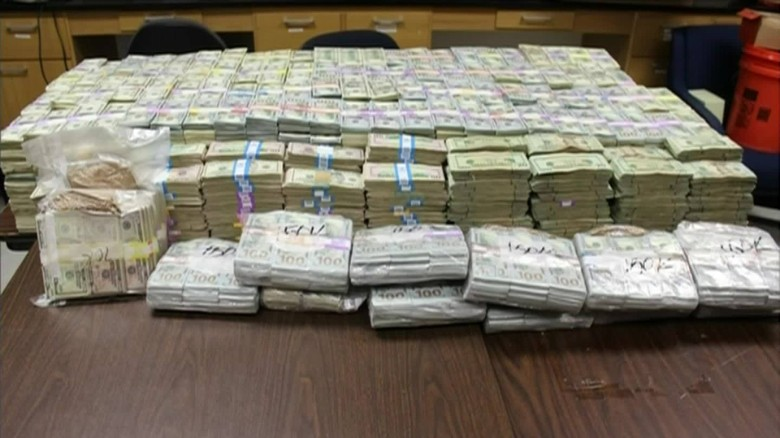 1d147c10ae Millions of dollars found stashed in buckets at Miami home