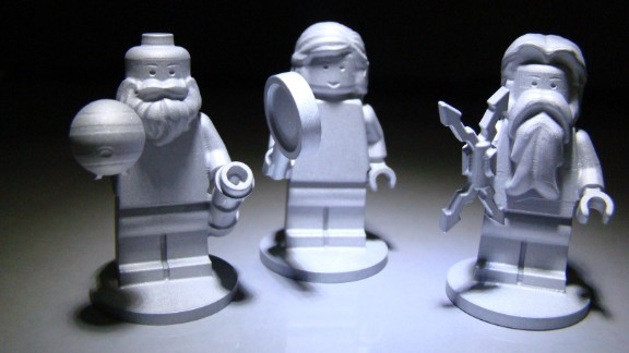 Three Lego figurines are flying aboard the Juno spacecraft. They represent the Roman god Jupiter; his wife, Juno; and Galileo Galilei, the scientist who discovered Jupiter's four largest moons on January 7, 1610.