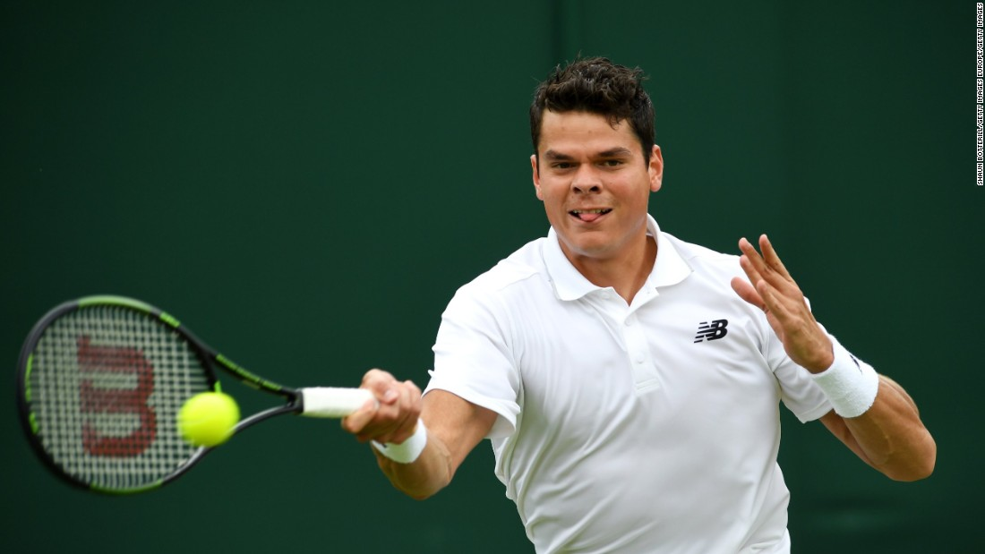 Canadian sixth seed Milos Raonic, who is co-coached by three-time champion John McEnroe, breezed past Italy's Andreas Seppi 7-6 6-4 6-2.