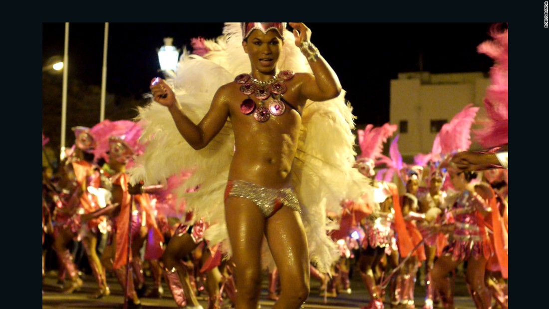 The transgender community make up only a portion of the carnival's throng, but their input can also be felt elsewhere. Andrade brings together local children to perform at the carnival, and her lieutenants Elvis and Edinha help with the costumes for myriad performers.