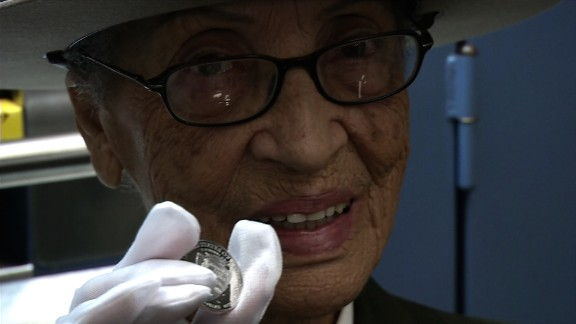 Ninety four year old Betty Soskin, honored with a coin by President Obama, was robbed and attacked in her home.