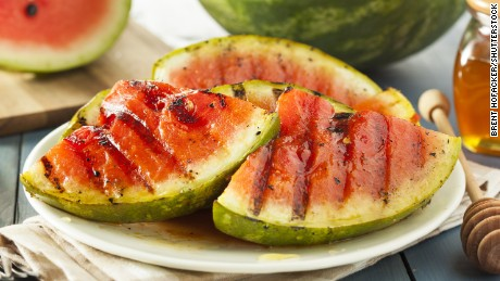 Try pairing grilled watermelon with greek yogurt or feta cheese for a fresh summer salad.