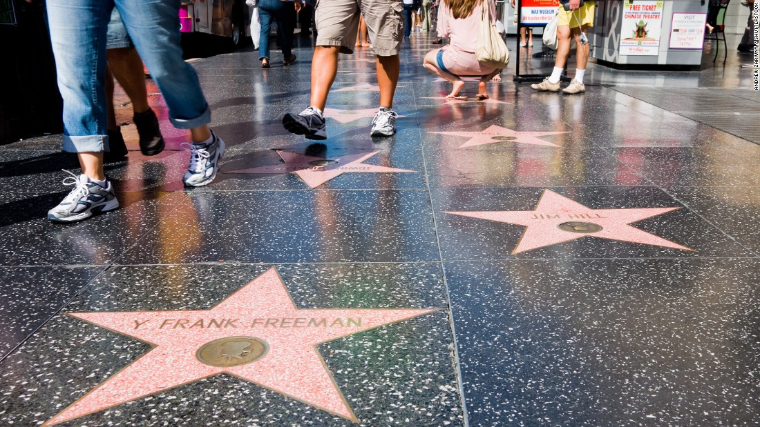 Getting a star on the Hollywood Walk of Fame isn't a cake walk - CNN