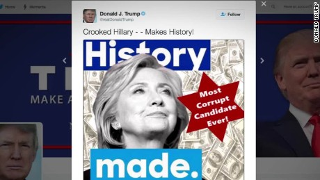 trump star tweet clinton backlash _00001715