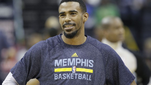 Memphis Grizzlies point guard Conley signed the most lucrative deal in NBA history during the off-season at five years and $153 million. Conley is a serviceable point guard, but hasn