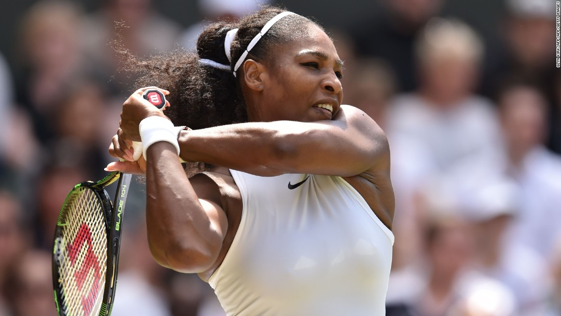 Defending champion Serena Williams eased into the fourth round of the tournament after overcoming Germany's Annika Beck 6-3 6-0.