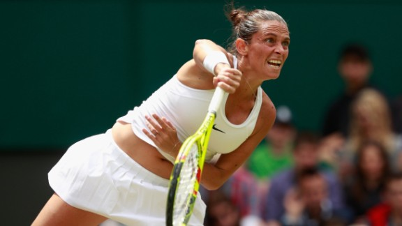 Sixth seed Roberta Vinci suffered a shock defeat against Coco Vandeweghe of the U.S. Vandeweghe, who will take on Anastasia Pavlyuchenkova in the fourth round, prevailed 6-3 6-4.