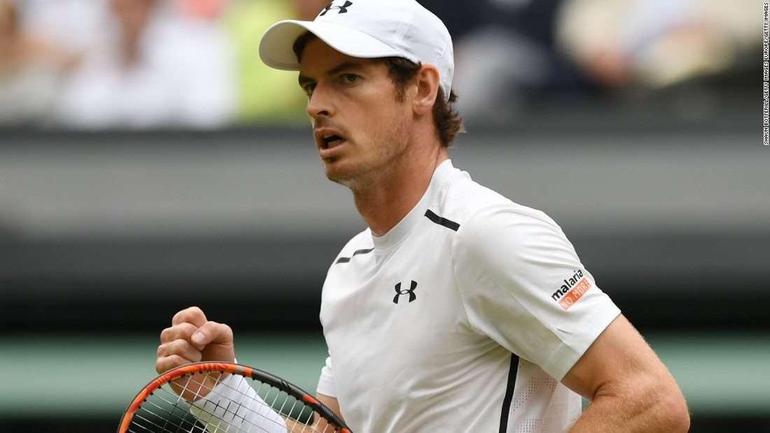 Murray has not lost a set so far in his 2016 Wimbledon campaign, and appears on course to meet Roger Federer in another final.