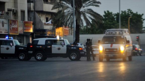 One attack near the U.S. Consulate in Jeddah