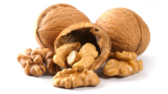 One polyunsaturated fat, an omega-6 fatty acid called linoleic acid, was shown in the Harvard study to be especially protective against death by cancer and coronary artery disease.   Walnuts are one of the best sources of linoleic acid; eating just seven shelled walnuts provides about 11 grams of the good stuff.