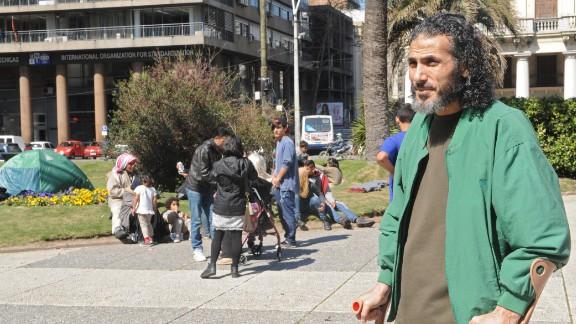 This 2015 photo shows former Guantanamo Bay detainee Jihad Diyab, also known as Abu Wa'el Dhiab.
