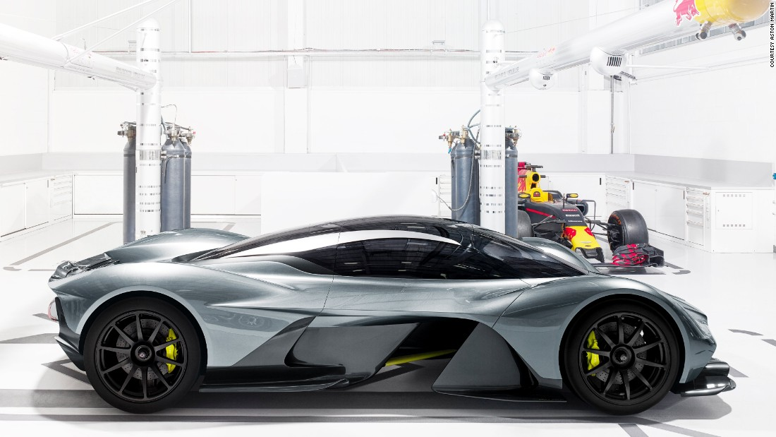 Aston Martin U0026 Red Bull Unveil New Hypercar AM RB 001   CNN Style