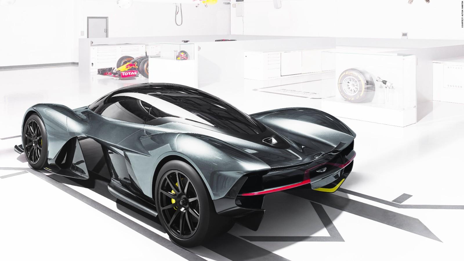 aston martin & red bull unveil new hypercar am-rb 001 - cnn style