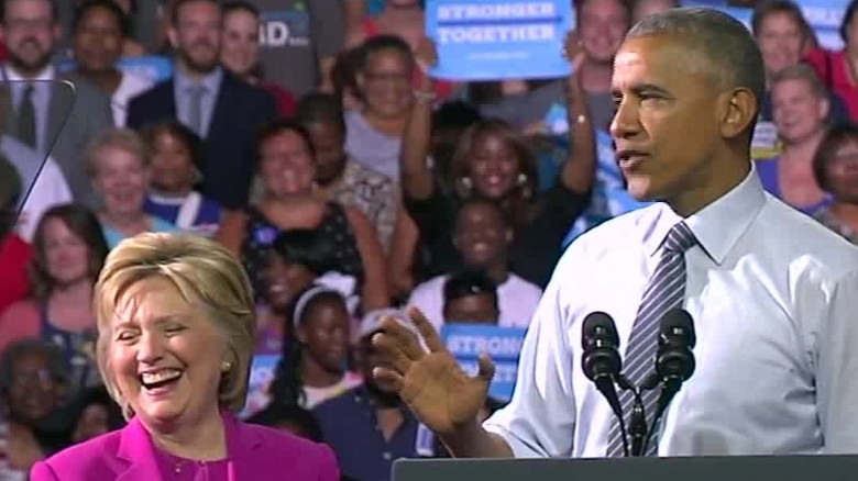 Obama: After 2008 primary, I admired Clinton even more
