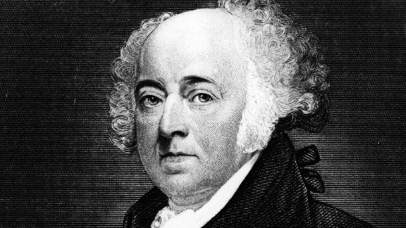 A 2006 study of President John Adams (1735-1826) suggests he may have been bipolar.